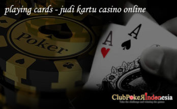 playing cards - kartu remi